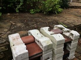Redland Vent Roof Tiles - unused. Original - not plastic.