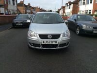 2007 Volkswagen polo 1.2 S 60 5dr hatchback petrol manual 50000 miles full service history £2295