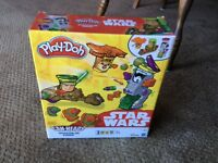Star Wars play doh boxed unopened
