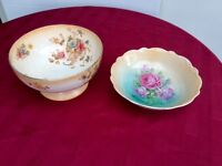 Two decorative china bowls.