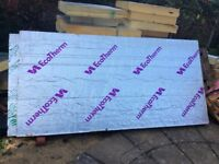 120mm thick celotex insulation