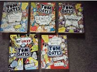 Tom Gates Books x 5