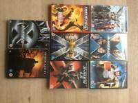 8 Marvel / DC DVDs for sale