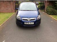 "2006 Vauxhall Zafira Life 1.6 Petrol 7 seater 17""Alloy Wheels Parking Sensor 3 owners Mot 15-05-18"
