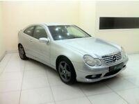 Mercedes-Benz C Class 2.0 C180 2dr - 12 Month MOT - Service History - £0 DEPOSIT LOW RATE FINANCE