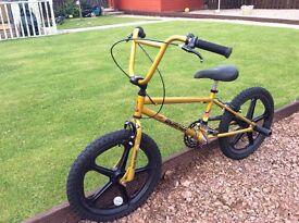 Kids retro Raleigh bmx bike