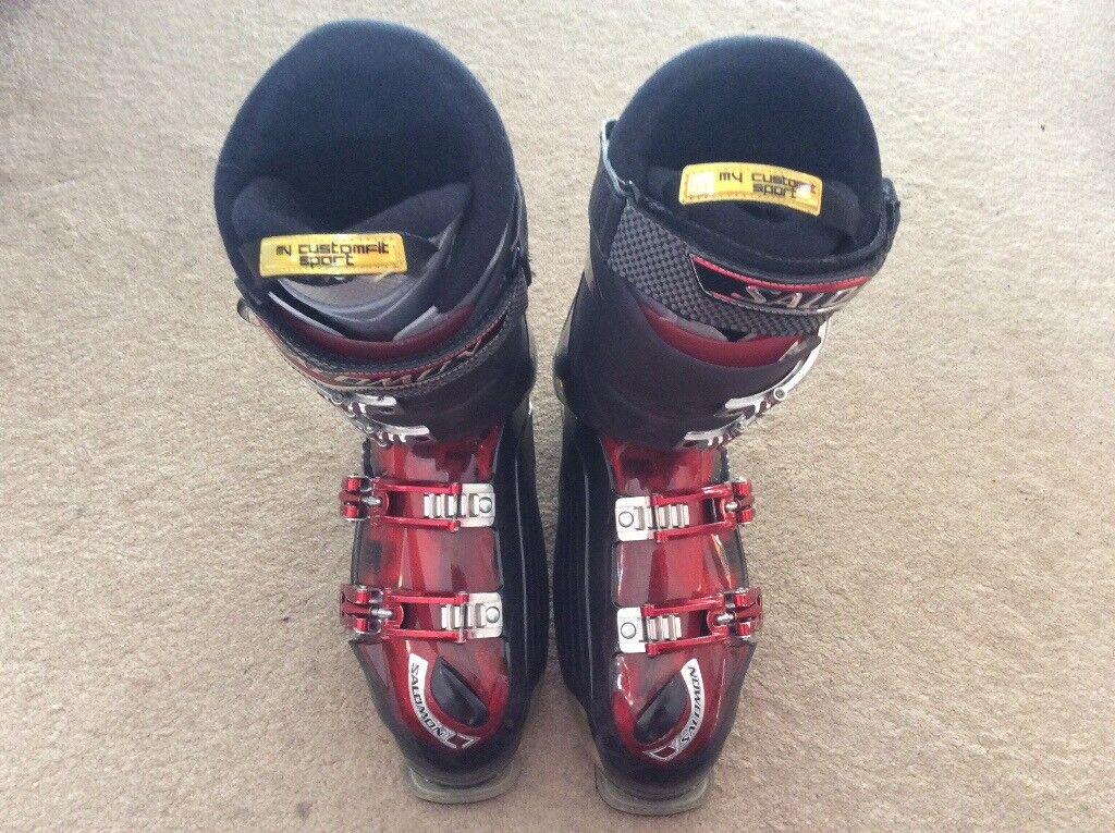 c19538e26177 Salomon 'Custom Shell' Energyzer 100 Ski Boots