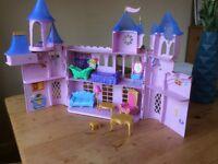 Fairy princess castle dolls house