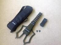 Jamstik + plus, with body add-on and case. OFFERS ACCEPTED