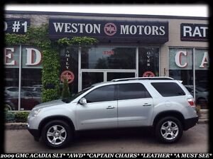 2009 GMC Acadia SLT*AWD*LEATHER*SUNROOF*100% APPROVED FINANCING