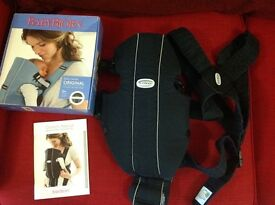 Classic Baby Bjorn Carrier in Black