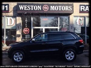 2012 Jeep Grand Cherokee Laredo *4X4 *LEATHER *NAVI *SUNROOF *SP