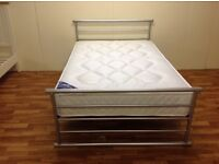 SMALL DOUBLE BED 4 FT WITH ORTHO MATTRESS