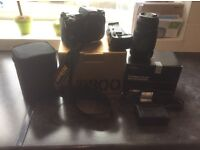 Nikon camera for sale with Nikon Battery Grip, sigma 70/300 lens , spare battery and bag