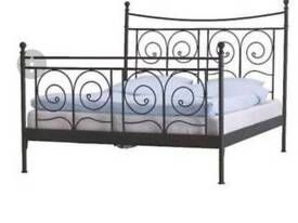 Double Bed frame - black from Ikea
