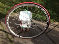 shimano tiagra front wheel with tyre 700 # 23