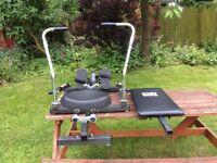 DP Bodytone fit for life Hydraulic Rowing Machine
