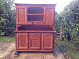 John Lewis Bergerac French Solid Oak Dresser