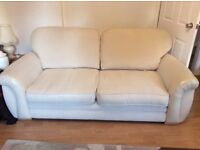 3 Seater Sofa, 2 Seater Sofa and Matching Footstool