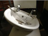 Sink- suit small bathroom or cloakroom