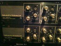 Multi-Track Vari-Band mastering equalisers, HUGE MUSIC HISTORY! Read!
