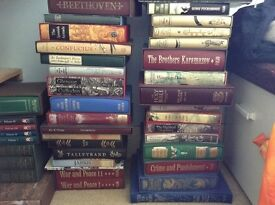 Folio society books - huge collection for sale as job lot or individually