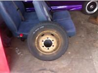 Wheels plus tyres x7