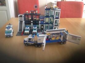 Lego police station bundle