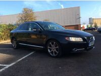 2009 Volvo S80 2.0 D R-DESIGN premium, 6 gear , RTI navigation + MAPS, black leather , 18 wheels
