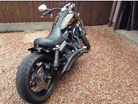 Harleydavidson motorcycle .1584 street Bob.