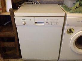 BOSCH free standing dishwasher.