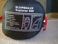 slumbalux explorer 400 sleeping bag