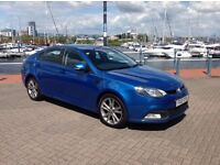 Mg6 1.8 gt tse 5 door with 70,300 with leather seats and sat nav with a new mot