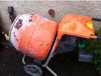 CEMENT CONCRETE MIXER 150 SPARES OR REPAIRS