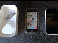 Brand new iPhone 5c White 16GB Apple Smart Phone (Boxed). Tesco Mobile Network