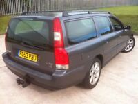 2003 VOLVO V70 D5 TURBO DIESEL ESTATE **FULL 12 MONTS MOT**FULL SERVICE HISTORY