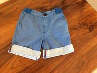 Ted baker boys blue shorts age 2-3 years
