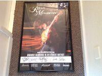 RYAN McGARVEY Large Signed Poster