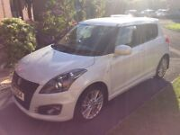 2013 Suzuki Swift Sport with only 6,200 miles. 1 owner from new. 1 Years MOT with vehicle. Mint!!!!!