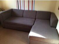 Sofa corner bed settee