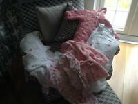 Bundle of baby girl stuff for sale