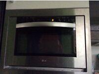 LG Built in microwave combi