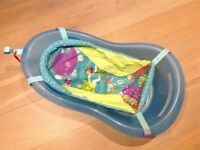 Fisher Price baby bath with nest