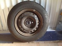 Spare Wheel with full thread