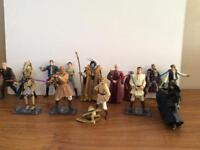 Star Wars loose and carded figures