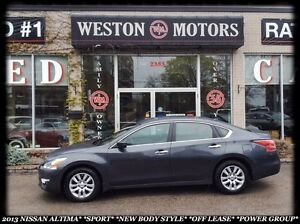 2013 Nissan Altima *SPORT*NEW BODY STYLE*OFF LEASE*POWER GROUP*