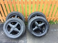 4 Set Ford Alloy Wheels