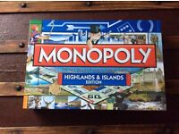 Monopoly, Highlands and Islands limited edition