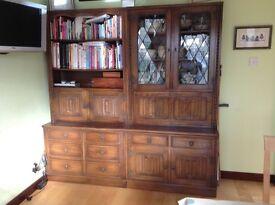 Solid oak dresser units