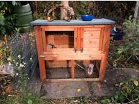 Guinea pig hutch and indoor house